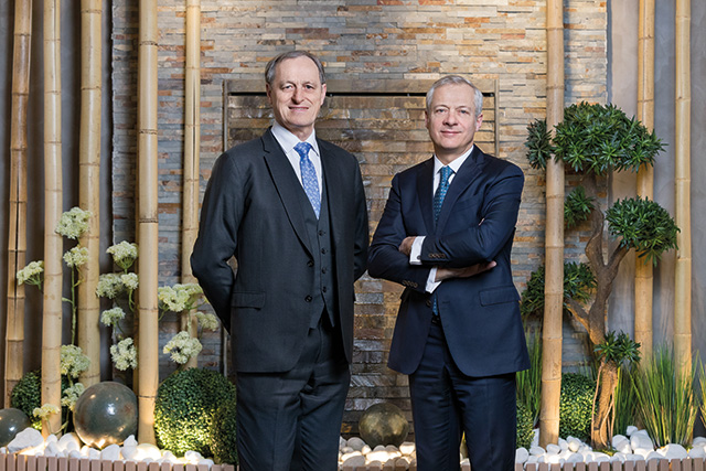 Emmanuel VIELLARD, Chief Executive Officer of LISI and Gilles KOHLER, Chairman of LISI