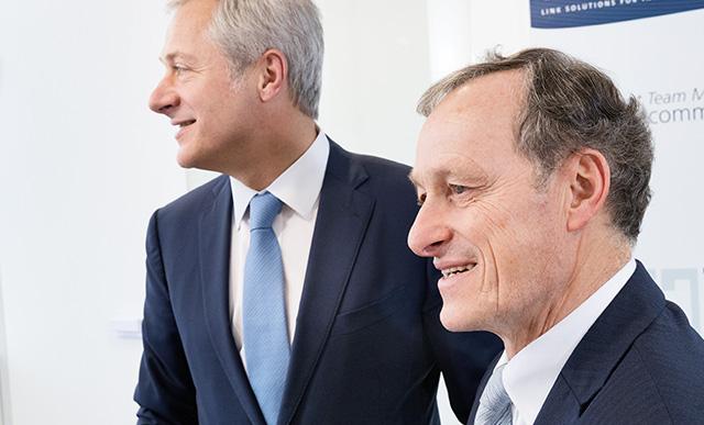 Emmanuel VIELLARD, Directeur Général de LISI et Gilles KOHLER, Président de LISI