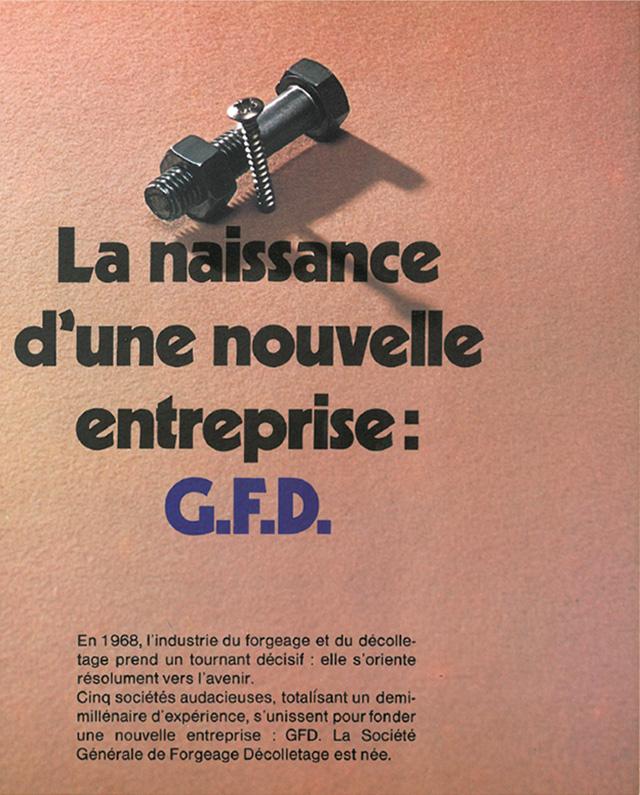 Création d'un groupe industriel : GFD